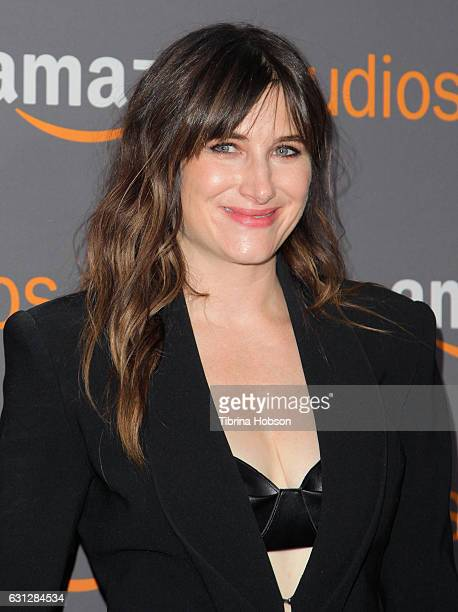 Actress Kathryn Hahn attends Amazon Studios Golden Globes Party at The Beverly Hilton Hotel on January 8 2017 in Beverly Hills California