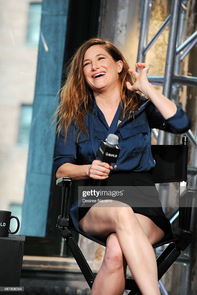 Actress Kathryn Hahn attends AOL BUILD Speaker Series: 'The Visit' at AOL Studios In New York on September 8, 2015 in New York City.