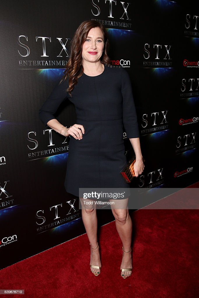 Actress Kathryn Hahn attends CinemaCon 2016 The State of the Industry: Past, Present and Future and STX Entertainment Presentation at The Colosseum at Caesars Palace during CinemaCon, the official convention of the National Association of Theatre Owners, on April, 12, 2016 in Las Vegas, Nevada.