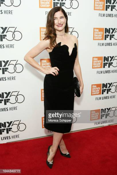 Actress Kathryn Hahn attends Netflix's Private Life red carpet and cocktail reception on October 1 2018 in New York City