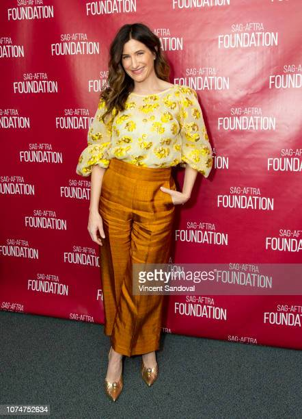 Actress Kathryn Hahn attends SAGAFTRA Foundation Conversations screening of Private Life and QA with Kathryn Hahn at SAGAFTRA Foundation Screening...