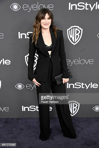 Actress Kathryn Hahn attends the 18th Annual PostGolden Globes Party hosted by Warner Bros Pictures and InStyle at The Beverly Hilton Hotel on...
