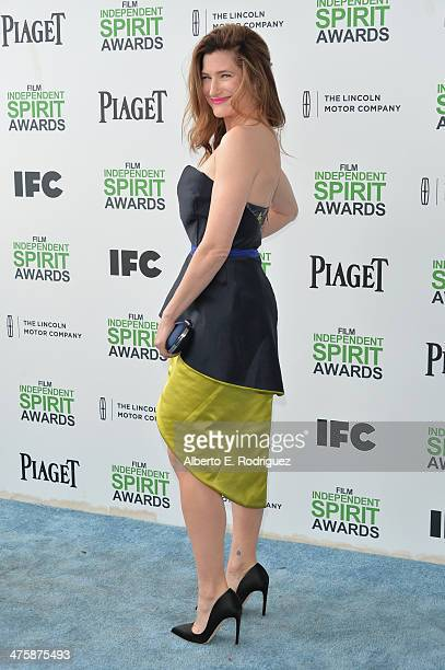 Actress Kathryn Hahn attends the 2014 Film Independent Spirit Awards at Santa Monica Beach on March 1 2014 in Santa Monica California