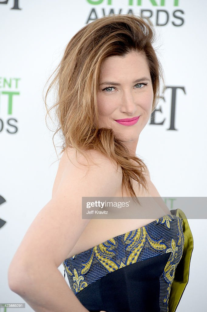 Actress Kathryn Hahn attends the 2014 Film Independent Spirit Awards on March 1, 2014 in Santa Monica, California.