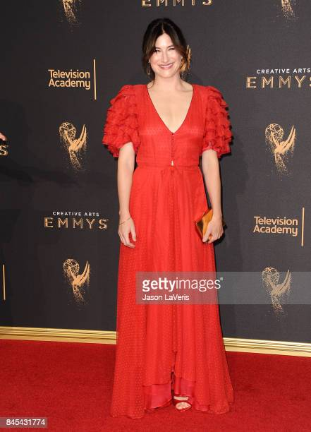 Actress Kathryn Hahn attends the 2017 Creative Arts Emmy Awards at Microsoft Theater on September 10 2017 in Los Angeles California