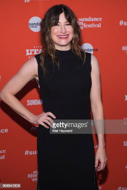Actress Kathryn Hahn attends the 2018 Sundance Film Festival Premiere of Netflix's 'Private Life' on January 18 2018 in Park City Utah