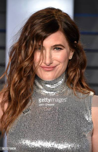 Actress Kathryn Hahn attends the 2018 Vanity Fair Oscar Party hosted by Radhika Jones at Wallis Annenberg Center for the Performing Arts on March 4...