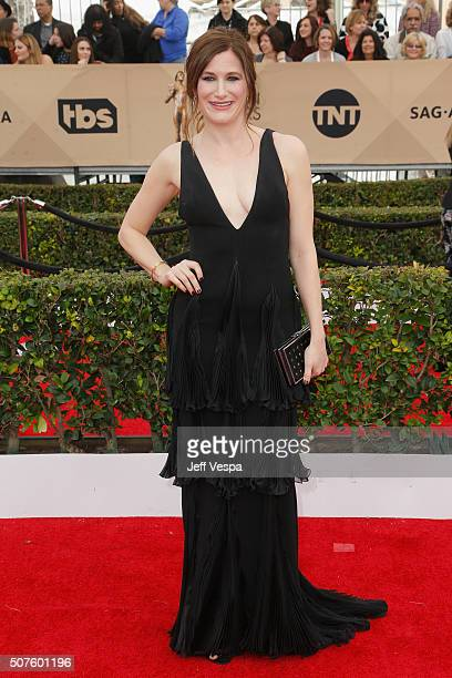 Actress Kathryn Hahn attends the 22nd Annual Screen Actors Guild Awards at The Shrine Auditorium on January 30 2016 in Los Angeles California