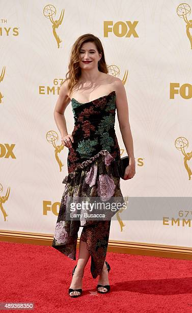 Actress Kathryn Hahn attends the 67th Annual Primetime Emmy Awards at Microsoft Theater on September 20 2015 in Los Angeles California