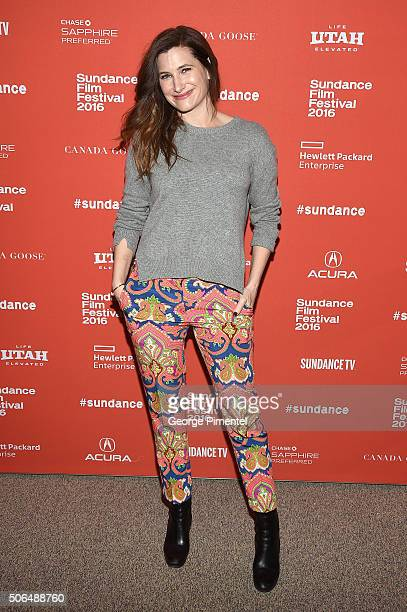 Actress Kathryn Hahn attends the 'Captain Fantastic' Premiere during the 2016 Sundance Film Festival Theatre on January 23 2016 in Park City Utah