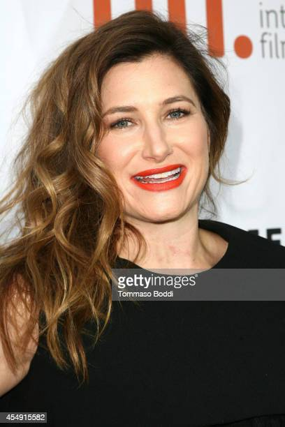 Actress Kathryn Hahn attends the 'Miss Julie' premiere during the 2014 Toronto International Film Festival at Roy Thomson Hall on September 7 2014 in...