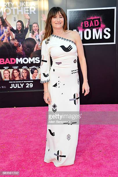 Actress Kathryn Hahn attends the Premiere ff STX Entertainment's Bad Moms at Mann Village Theatre on July 26 2016 in Westwood California