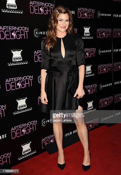 Actress Kathryn Hahn attends the premiere of 'Afternoon Delight' at ArcLight Hollywood on August 19 2013 in Hollywood California