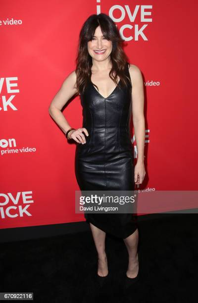 Actress Kathryn Hahn attends the premiere of Amazon's 'I Love Dick' at the Linwood Dunn Theater on April 20 2017 in Los Angeles California