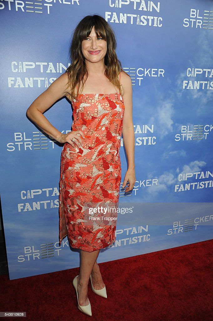 Actress Kathryn Hahn attends the premiere of Bleecker Street Media's 'Captain Fantastic' held at the Harmony Gold Theater on June 28, 2016 in Hollywood, California.