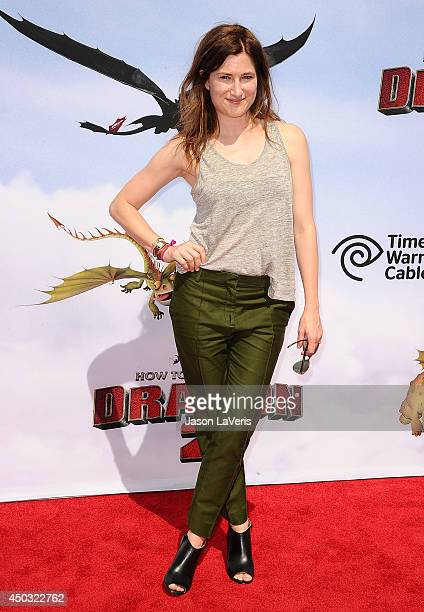 Actress Kathryn Hahn attends the premiere of 'How To Train Your Dragon 2' at Regency Village Theatre on June 8 2014 in Westwood California
