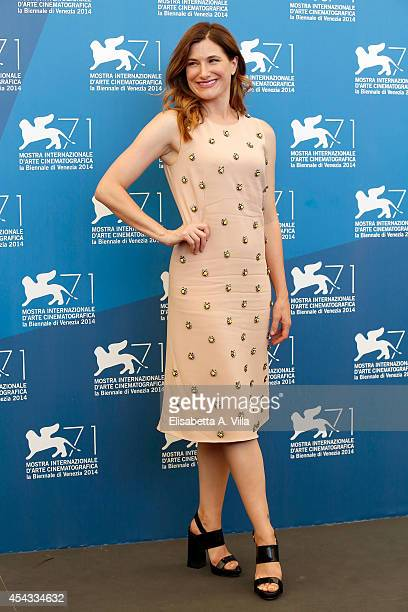Actress Kathryn Hahn attends the 'She's Funny That Way' Photocall during the 71st Venice Film Festival on August 29, 2014 in Venice, Italy.