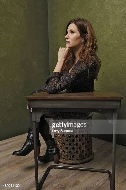 """Actress Kathryn Hahn from """"D-Train"""" poses for a portrait at the Village at the Lift Presented by McDonald's McCafe during the 2015 Sundance Film..."""