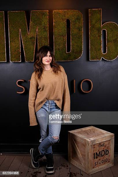 Actress Kathryn Hahn of 'I Love Dick' attends The IMDb Studio featuring the Filmmaker Discovery Lounge presented by Amazon Video Direct Day Three...