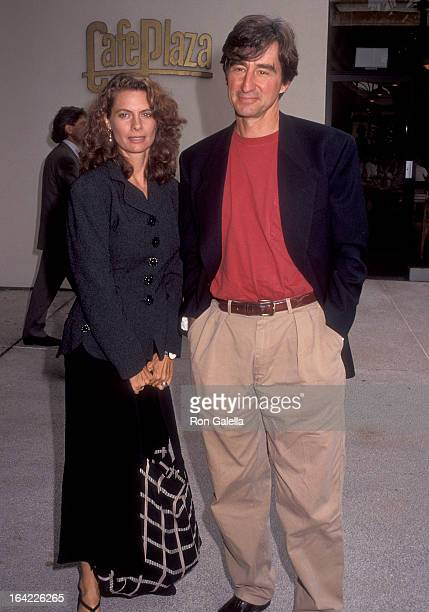 Actress Kathryn Harrold and actor Sam Waterston attend the NBC Summer TCA Press Tour on July 9 1992 at the Century Plaza Hotel in Century City...