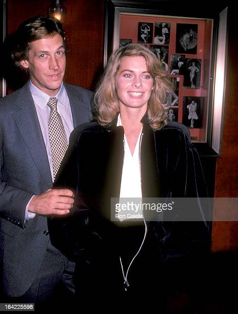 Actress Kathryn Harrold and boyfriend attend the Yes Giorgio New York City Premiere on September 22 1982 at the Ziegfeld Theatre in New York City