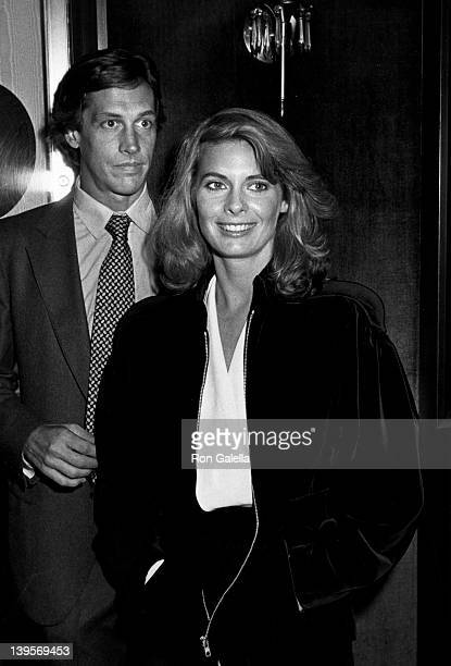 Actress Kathryn Harrold and date attend the premiere of Yes Giorgio on September 22 1986 at the Ziegfeld Theater in New York City