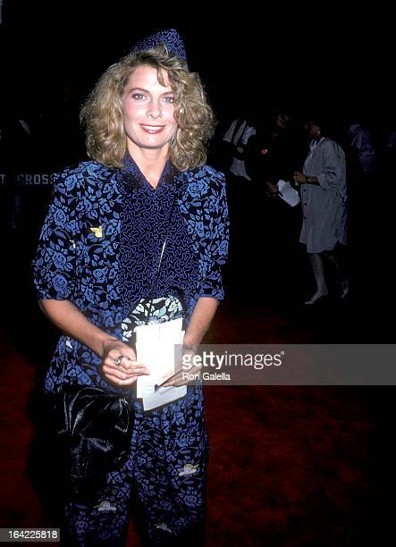 Actress Kathryn Harrold attends the American Anthem New York City Premiere on June 23 1986 at the Ziegfeld Theatre in New York City