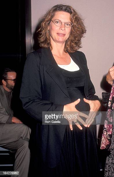 Actress Kathryn Harrold attends the Babyfever For Those Who Hear Their Clock Ticking New York City Premiere on May 2 1994 at the Mark Goodson Theater...
