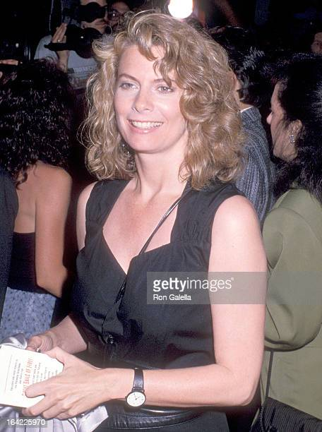 Actress Kathryn Harrold attends the Great Balls of Fire New York City Premiere on June 26 1989 at the Ziegfeld Theatre in New York City