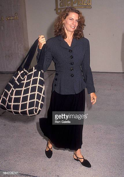 Actress Kathryn Harrold attends the NBC Summer TCA Press Tour on July 9 1992 at the Century Plaza Hotel in Century City California