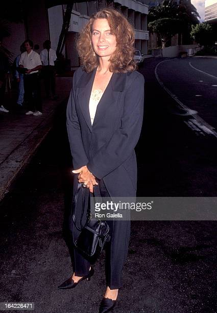 Actress Kathryn Harrold attends the NBC Summer TCA Press Tour on July 11 1992 at the Century Plaza Hotel in Century City California