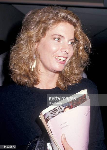 Actress Kathryn Harrold attends the NBC Television Affiliates Party on June 2 1987 at the Century Plaza Hotel in Century City California