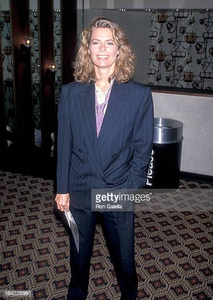 Actress Kathryn Harrold attends The Package New York City Premiere on August 22 1989 at the UA Gemini in New York City