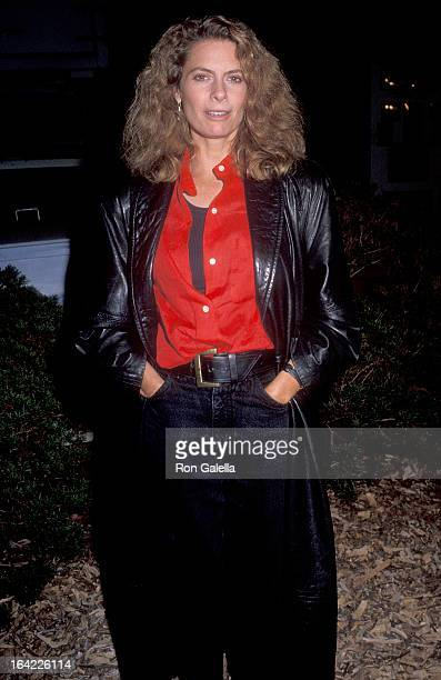 Actress Kathryn Harrold attends the TreePeople's Fourth Annual Evening Under the Harvest Moon Beneft on October 6 1990 at TreePeople Headquarters...
