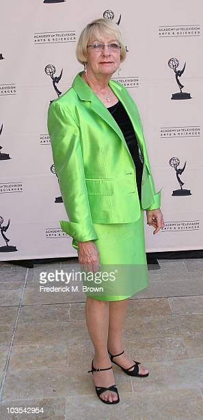 Actress Kathryn Joosten attends the Academy of Television Arts and Sciences' Producers Peer Group Emmy pre party at the Montage Hotel on August 22...