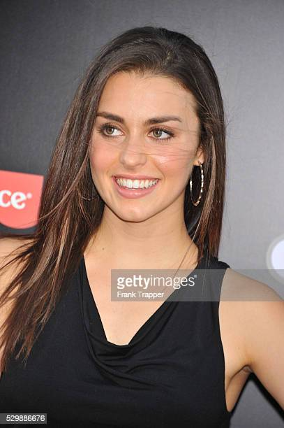 Actress Kathryn McCormick arrives at the premiere of What To Expect When Your Expecting premiere held at Grauman's Chinese Theater