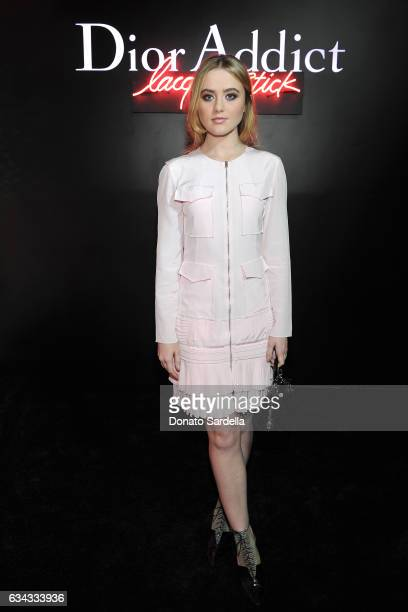 Actress Kathryn Newton attends Dior Beauty celebrates the launch of Dior Addict Lacquer Stick in the presence of Peter Philips in LA at Delilah on...