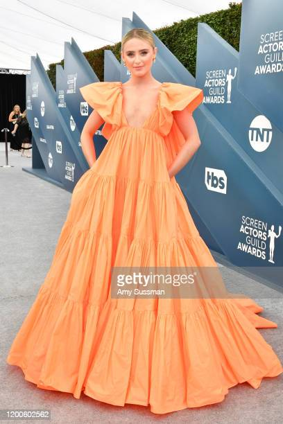 US actress Kathryn Newton attends the 26th Annual Screen Actors Guild Awards at The Shrine Auditorium on January 19 2020 in Los Angeles California