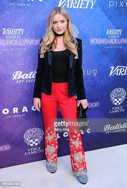 Actress Kathryn Newton attends Variety's Power of Young Hollywood event presented by Pixhug with platinum sponsor Vince Camuto at NeueHouse Hollywood...