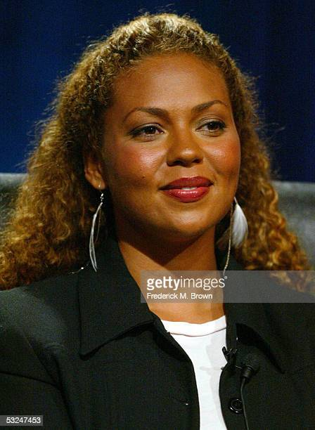 Actress Kathryne Dora Brown attends the panel discussion during the Hallmark Channel presentation at the 2005 Television Critics Association Summer...