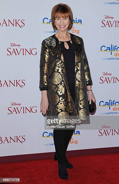 Actress Kathy Bake attends the premiere of 'Saving Mr Banks' at Walt Disney Studios on December 9 2013 in Burbank California