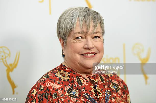 Actress Kathy Bates arrives at An Evening With The Women Of 'American Horror Story' presented by the Television Academy at The Montalban on March 17...