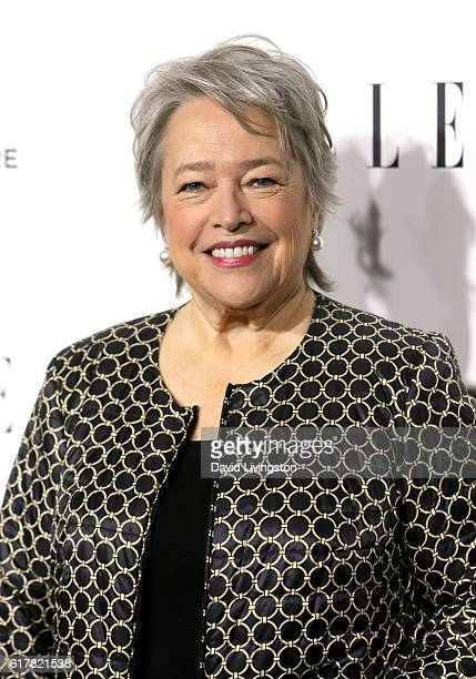 Actress Kathy Bates arrives at the 23rd Annual ELLE Women in Hollywood Awards at Four Seasons Hotel Los Angeles at Beverly Hills on October 24 2016...