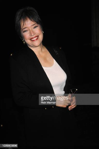 Actress Kathy Bates attends a luncheon at the Friars Club in honor of actor Billy Crystal