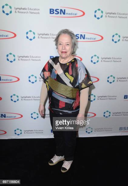 Actress Kathy Bates attends Academy Award Winner and LERN Spokesperson Kathy Bates Hosts Reception On The Eve Of The Third Annual California Run/Walk...