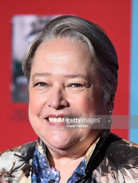 Actress Kathy Bates attends FX's American Horror Story Freak Show premiere screening at TCL Chinese Theatre on October 5 2014 in Hollywood California