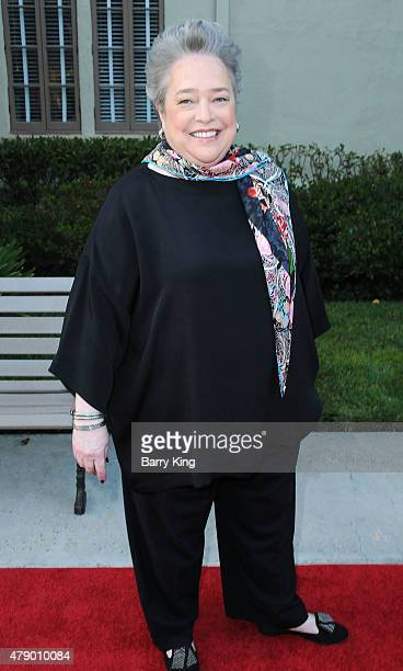 Actress Kathy Bates attends FX's 'American Horror Story Freakshow' FYC special screening and QA at Paramount Studios on June 11 2015 in Los Angeles...