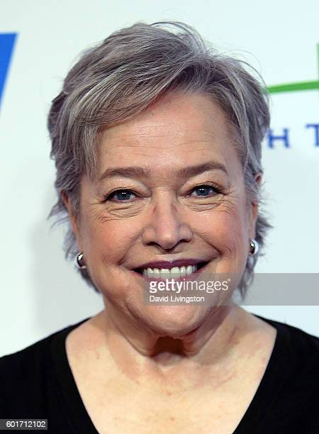 Actress Kathy Bates attends Hollywood Unites for the 5th Biennial Stand Up To Cancer a program of the Entertainment Industry Foundation at Walt...