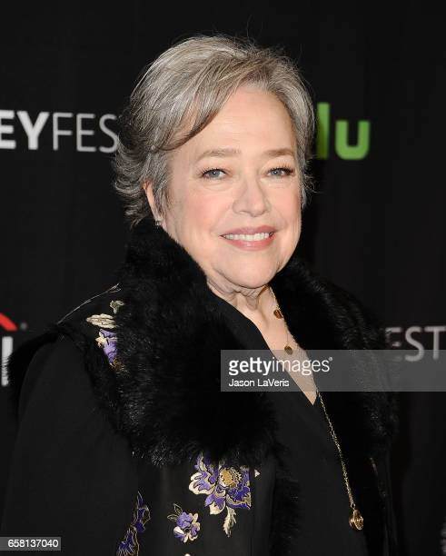 Actress Kathy Bates attends the 'American Horror Story Roanoke' event at the Paley Center for Media's 34th annual PaleyFest at Dolby Theatre on March...