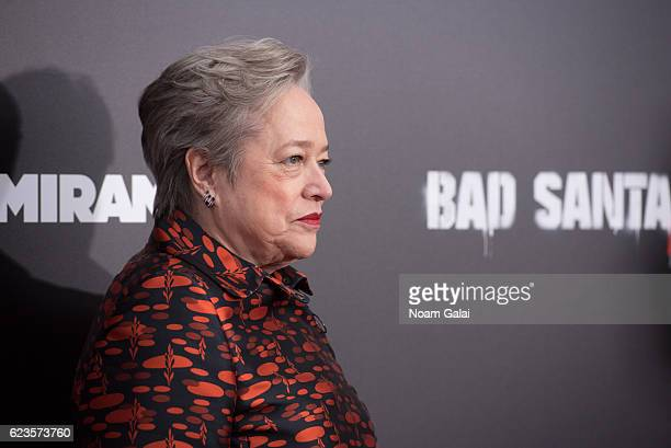 Actress Kathy Bates attends the Bad Santa 2 New York premiere at AMC Loews Lincoln Square 13 theater on November 15 2016 in New York City